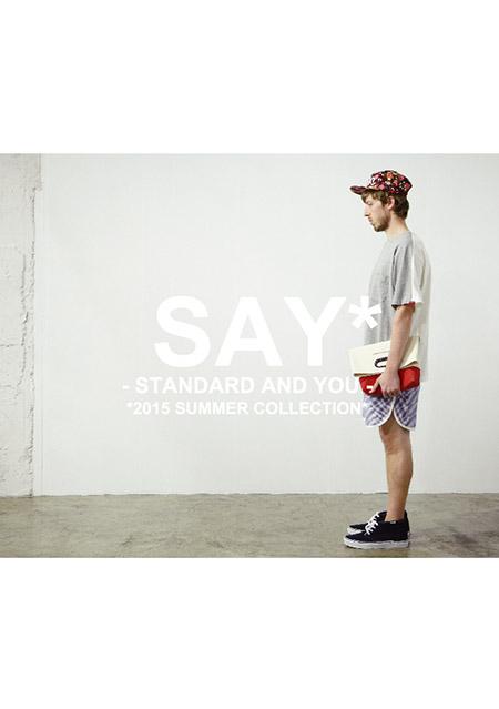 SAY!2015SUMMER_P1_表紙☆